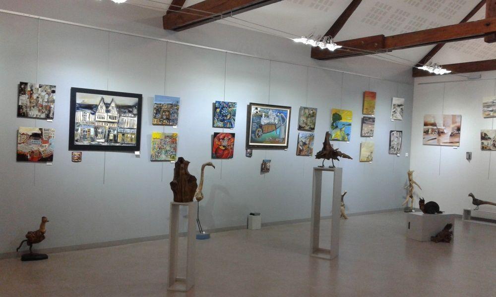 Exposition collective du GAM - Groupe Artistique de Mareuil - à Foëcy (18)