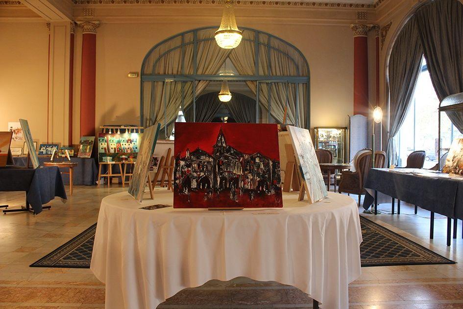 Exposition  collective à l' Aletti Palace de Vichy (03)