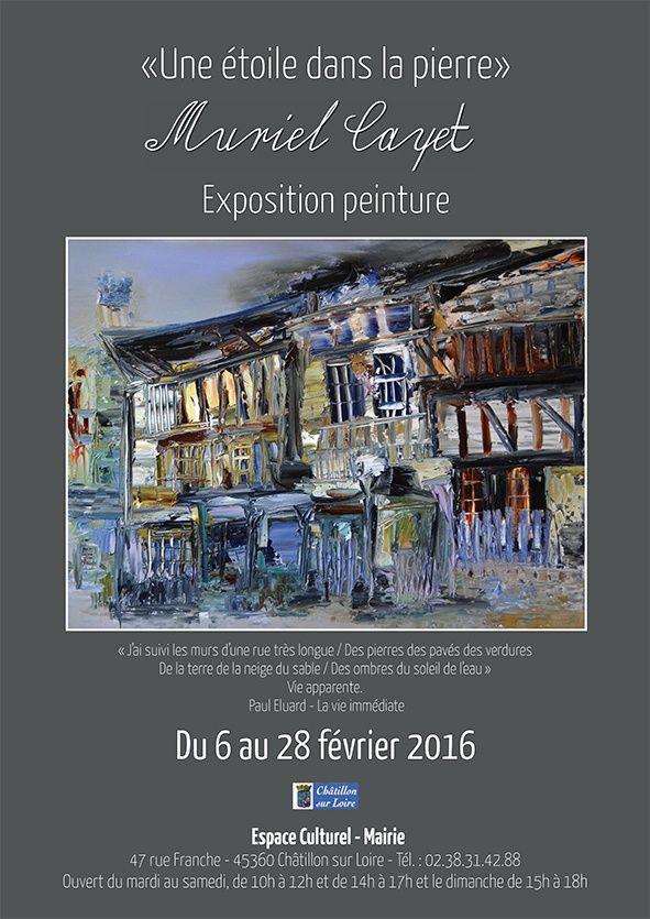 Exposition personnelle à Châtillon sur Loire