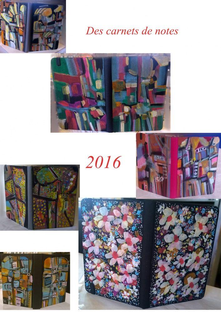 Les carnets de notes 2016