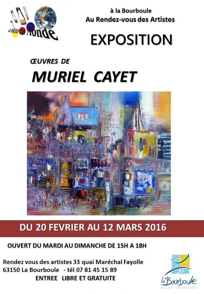 Exposition personnelle à La Bourboule