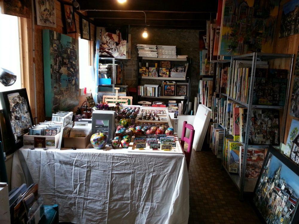 L'atelier de Mareuil en mars 2016