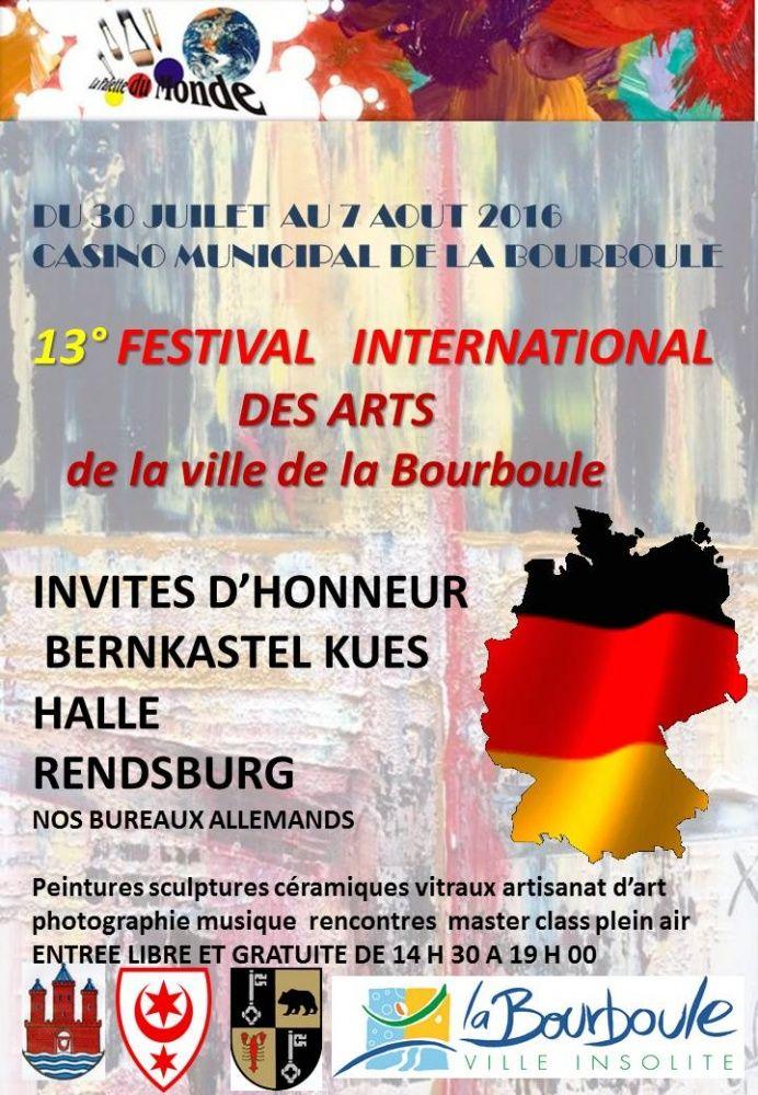 Festival International des Arts de la ville de la Bourboule