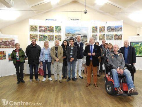 Invitée d'honneur Salon d'Ousson sur Loire
