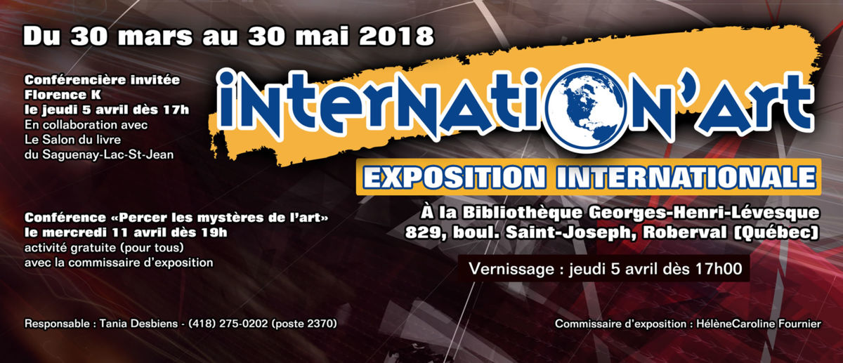Une 8e édition annuelle pour l'évènement Internation'ART à Roberval