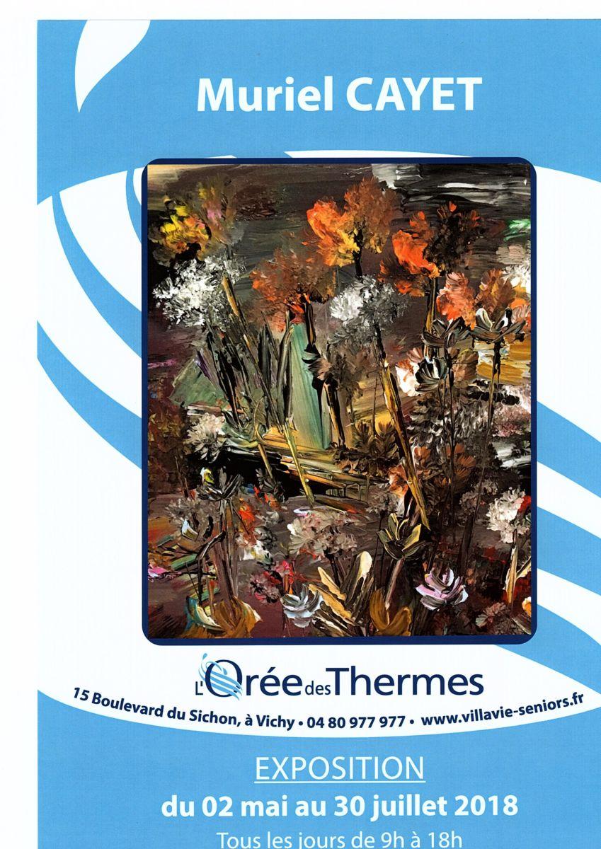 Exposition à l'Orée des Thermes