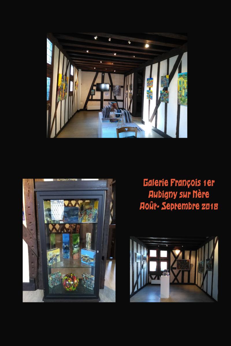 Exposition à Aubigny sur Nère