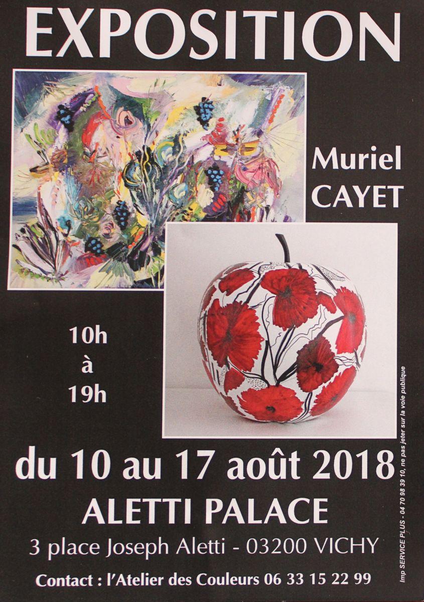 Exposition personnelle Aletti Palace de Vichy