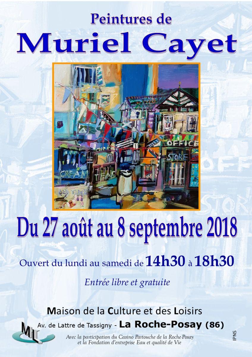 Exposition personnelle à La Roche Posay (86)