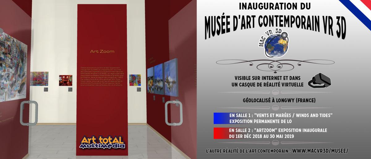 UN MUSÉE D'ART CONTEMPORAIN ENTIÈREMENT MODÉLISÉ EN 3D